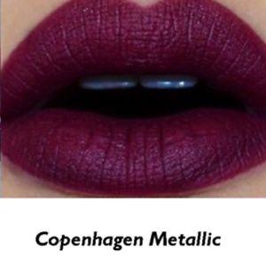 Nyx Makeup Soft Matte Metallic Copenhagen Poshmark